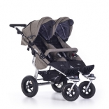 Детская коляска TFK Twinner Twist Duo Premium, в ассорт.