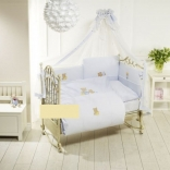 Постельный комплект Feretti Sestetto Long Sleepy Bears Blue