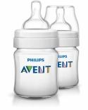 Бутылочка для кормления Philips Avent, classic, 125 мл, +,2 шт