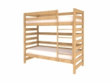 Двухярусная кровать Woodman без ящиков, натуральный