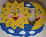 Часы Солнце-Месяц