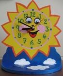 Часы Солнышко