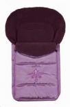 Спальный мешок-конверт на овчине №50 Womar (zaffiro) 95х50 см крашеный мех, в ассорт.