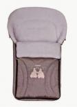 Спальный мешок-конверт на овчине №41 (excluzive) 95x50cm крашеный мех, в ассорт.