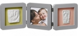 Набор для оттисков (слепок) Baby Art Double Print Frame серый, 34120139
