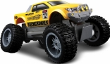 Машина на р/у Maisto Tech Rock Crawler Jr., жёлто-чёрный, 81162