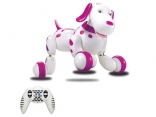 Робот-собака р/у HappyCow Smart Dog (розовый), HC-777-338p