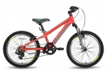 Велосипед 20'' PRIDE JOHNNY Race красно-желтый матовый 2016, SKD-83-22