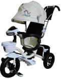 Трехколесный велосипед Mini Trike с капюшоном, надувные колеса, LT960-2, в ассорт.