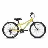 Велосипед 24'' PRIDE BRAVE 7 желто-синий матовый 2016, SKD-94-34