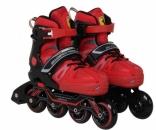 Ролики FERRARI Inline Skate FS 23, размер 34-37, (красные), FS23/34R