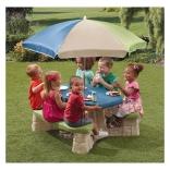 Детский столик для пикника с зонтиком Step2, 008438