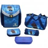 Школьный ранец с наполнением Herlitz Flexi Plus Pirate bay, (11407517)