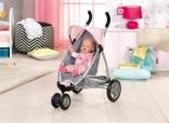 Коляска для куклы Baby Born Zapf Creation с сеткой и козырьком, 821367