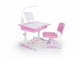 Комплект Evo-Kids (стол+стул+лампа+полка) BD-02 New, цвета в ассорт.