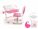 Комплект Evo-Kids Mealux (столик+стульчик+лампа) EVO-08, цвета в ассорт.