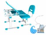 Комплект мебели Mealux столик+стульчик Evo-08 (с лампой), в ассорт.