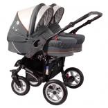 Детская коляска для двойни 2 в 1 Zekiwa Sport Duo ZZ, цвета в ассорт.