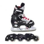 Роликовые коньки с лезвием для льда Tempish Neo-X Duo, 29/32, 33/36, 37/40, 13000008252