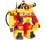 Игрушка Robocar Poli (Робокар Поли) Рой 15 см + костюм супер пожарного Silverlit, 83314