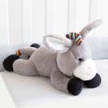 Мягкая игрушка которая успокаивает новорожденного ребёнка DON Zazu (ослик), ZA-DON-01