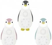 Пингвинёнок - Ночничок и музыкальный бокс с Bluetooth ZOE Zazu (ЗОЕ), цвета в ассорт.