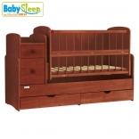 Детская кроватка-трансформер Baby Sleep Angela (DTP-S-B), цвета в ассорт.