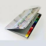 Цветные карандаши Marco 36 цвет, 7120-36TN Raffine акварельные в метал. пенале