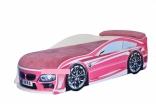 Кровать-машина для девочек BMW Mebelkon 70*150, цвета в ассорт.