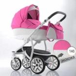 Детская коляска 2 в 1 Bebetto Torino Shanel, цвета в ассорт.
