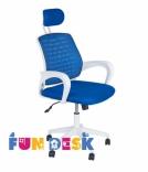Детское компьютерное кресло с подлокотниками FunDesk LST5, цвета в ассорт.