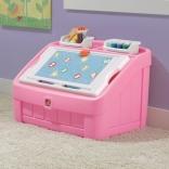 Комод для игрушек и доска для творчества Step 2