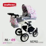 Универсальная коляска Adbor Nemo 3 в 1 с автокреслом, в ассорт.