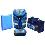 Школьный ранец с наполнением Herlitz Motion Plus Soccer, (50007660)