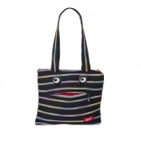 Сумка Zipit MONSTERS Tote/Beach, цвет Black&Rainbow; Teeth (черный), ZBZM-1