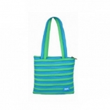 Сумка Zipit Premium Tote/Beach, цвет Turquise Blue&Spring; Green (бирюзовый), ZBN-15