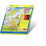 Цветные карандаши Marco 12 цвет.,
