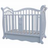 Детская кроватка-диванчик Корона Royal Room стразы, цвета в ассорт.