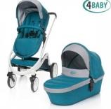 Универсальная коляска 4 Baby Cosmo Duo 2 в 1, цвета в ассорт.