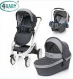 Универсальная коляска 4 Baby Cosmo Trio 3 в 1, цвета в ассорт.