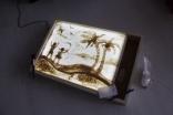 Планшет для рисования песком, размер 62х42х9 см