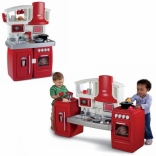 Интерактивная детская кухня Little Tikes красная, 626012