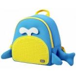 Рюкзак Upixel Blue Whale - Голубо-желтый, WY-A030O