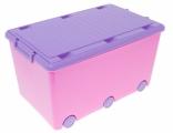 Ящик для игрушек Tega Chomik MIX IK-008, цвета в ассорт.