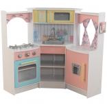 Детская угловая кухня KidKraft Deluxe, 53368