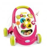 Ходунки - коляска для кукол Smoby 211376R, розовый