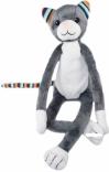 KATIE-КАТІЕ Котик мягкая игрушка - ночник с мелодиями и светом Zazu, ZA-KATIE-01
