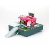 Кейс-трансформер Поли Robocar Poli Silverlit с гаражем 13  см, 83363