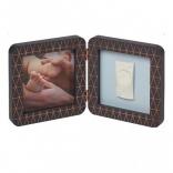 Двойная рамка медно/темно-серая Baby Art (Бэби Арт), 3601092900