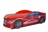 Кроватка-машина Mebelkon (Мебелькон) Тесла 150*70, цвета в ассорт.